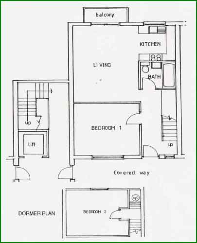 Consort village two bedroom ground floor apartments for 2 bedroom ground floor plan